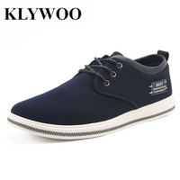 KLYWOO Big Size 39 47 Breathable Mens Casual Shoes Autumn Fashion Boat Shoes Men Krasovki Comfortable