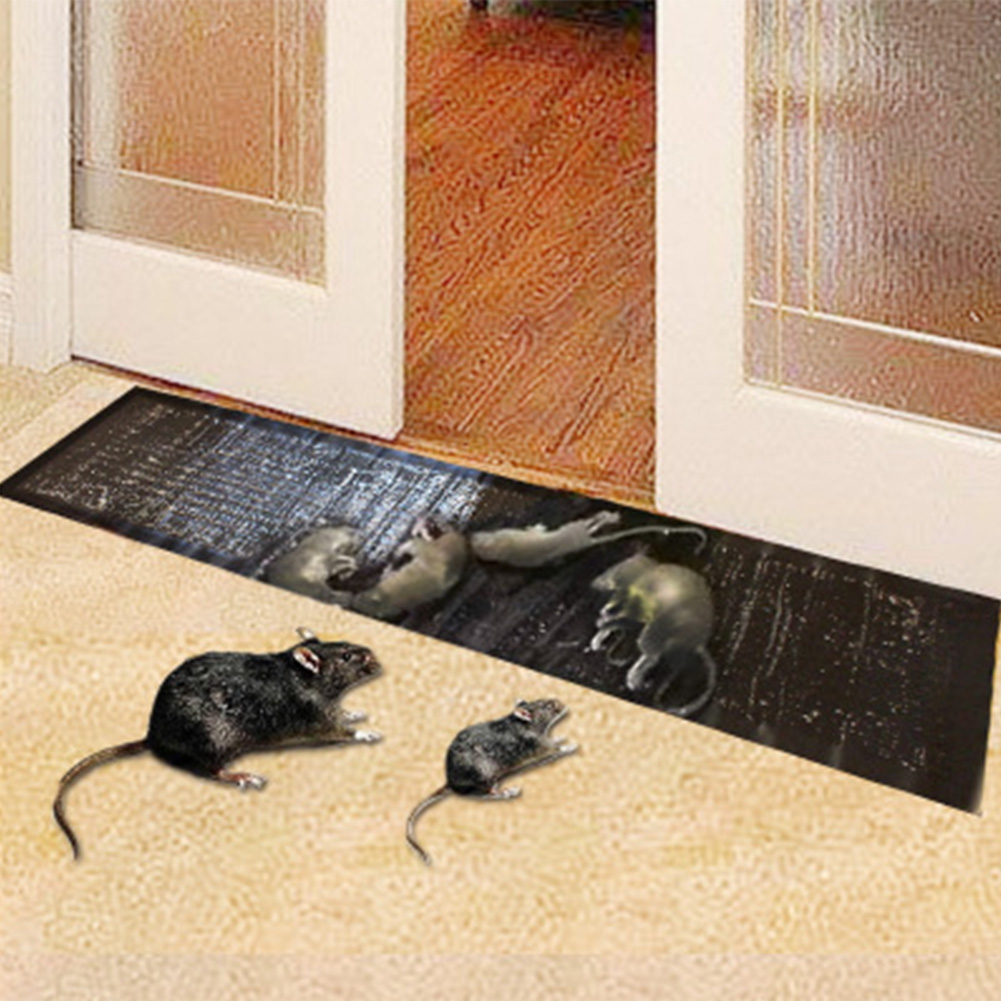 Household Office Rat Safe Carpet Mice Non Toxic Snake Bugs Large Size Strong Adhesive Mouse Glue Trap Catcher Rodent