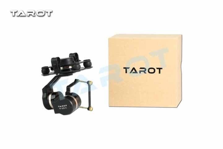 Tarot 3D V Металл TL3T05 3 оси PTZ карданный Стабилизатор камеры для GOPRO Экшн камеры FPV Дрон запчасти - 5