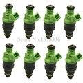 8 pçs/lote Original Injetores de Combustível De Alto Fluxo 440cc Para A4 530i foco de Lótus Camaro Esquivar 0280150558 Bico Injetor 0 280 150 558