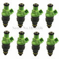 8pcs/lot Original High Flow Fuel Injectors 440cc For A4 530i Focus Lotus Camaro Dodge 0280150558 Injector Nozzle 0 280 150 558