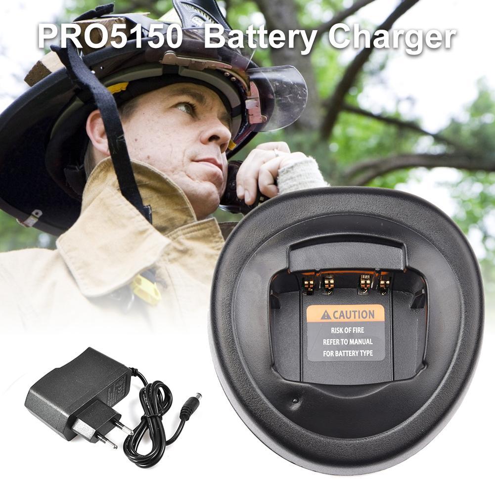 Battery Charger Base For Motorola Two-way Radio For GP328 GP340 GP338 PRO5150 DC 17V 1.2A Two-way Radio Charger US Plug/EU Plug