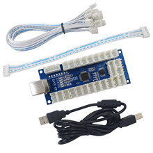 SJ@ JX аркадный USB кодировщик светодиодный аркадный контроллер ПК PS3 Android аркадный DIY комплект светодиодный аркадный светодиодный с нулевой задержкой