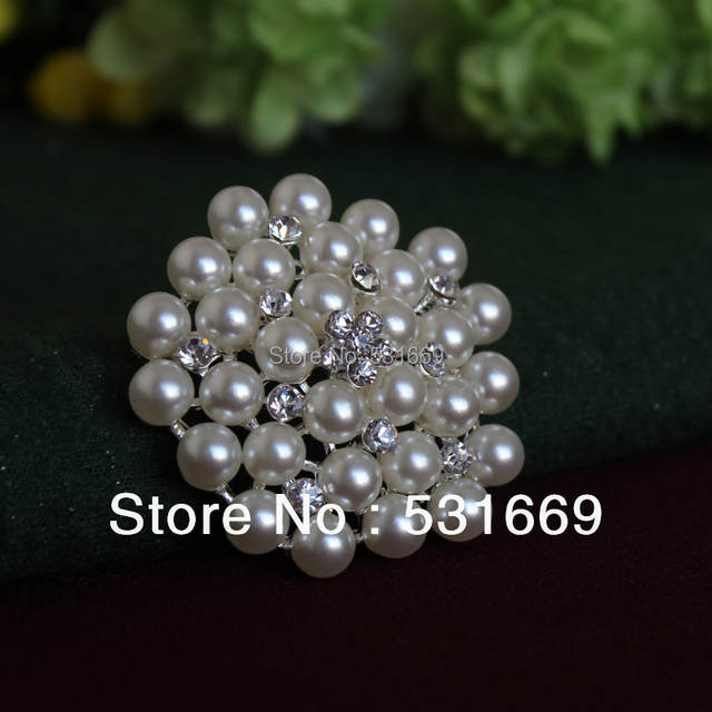 65cc00380d0 Snowflake Silver Plated Rhinestone Brooch Jewelry Pins Imitation Pearls  Brooches For Women Lapel Pin Women Collar Tips Hajib-in Brooches from  Jewelry ...