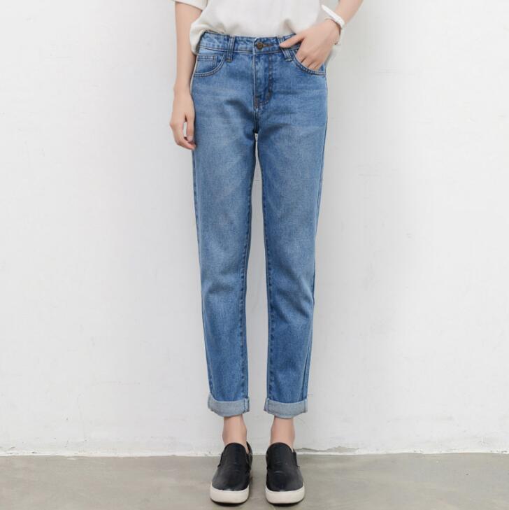 Mom Pantalones Vaqueros De Cintura Alta Para Mujer Jeans Vintage Para Chicas Adolescentes Pantalones Para Novio Vaqueros De Alta Calidad De Talla Grande Pantalones Vaqueros Aliexpress