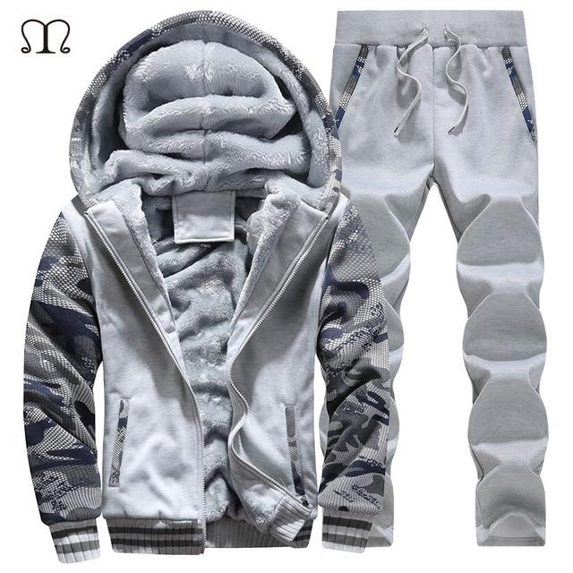 702d75352cb Men Jogger Set Brands 2017 New Arrived xxxxl Track suits Men Sweat Suits  Fleece Tracksuits Tracksuit