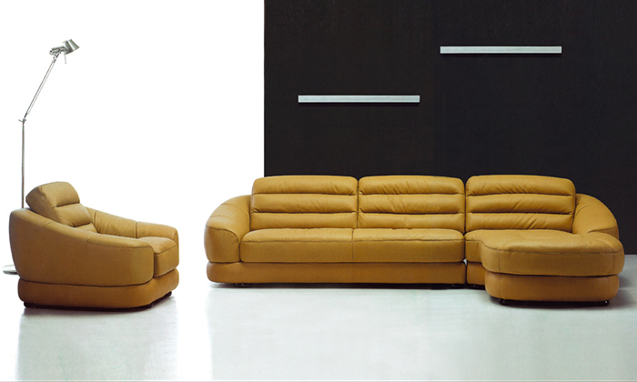 Free Shipping Latest French Design Genuine Leather L Shaped Corner Sofa U0026  Chair With Chaise Longue