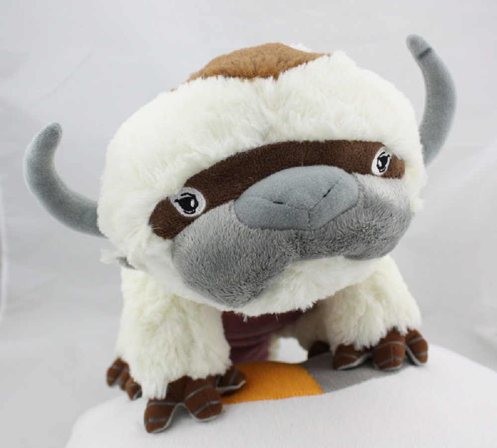 ФОТО Cartoon Flying Bison Last Airbender Resource Appa Avatar Stufed Plush Toy Birthday Gift For Children