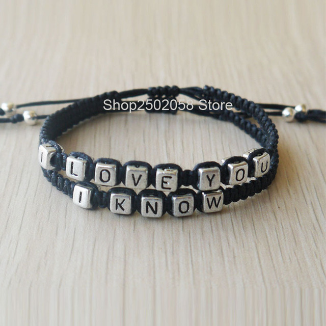 Ilove You I Know S Bracelet His Hers Christmas Gift
