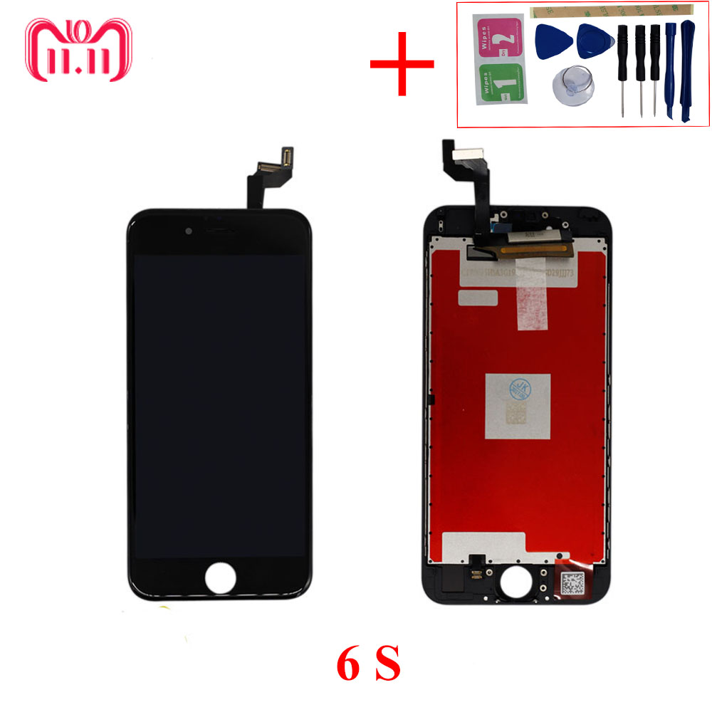 AAA Quality LCD Screen For <font><b>iPhone</b></font> <font><b>6S</b></font> Display Assembly Replacement Digitizer for <font><b>iphone</b></font> <font><b>6S</b></font> lcd Pantalla Monitor Phone <font><b>Ecran</b></font> Parts image