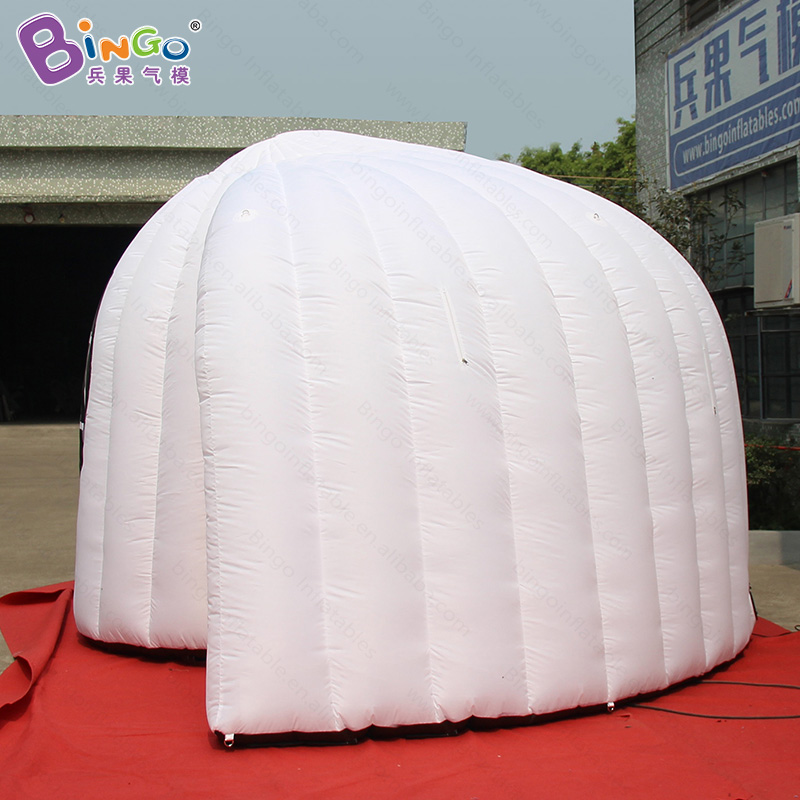 Customized 5X3.6X2.5 meters inflatable photo booth / inflatable photo booth kiosk / inflatable white tent toy tent