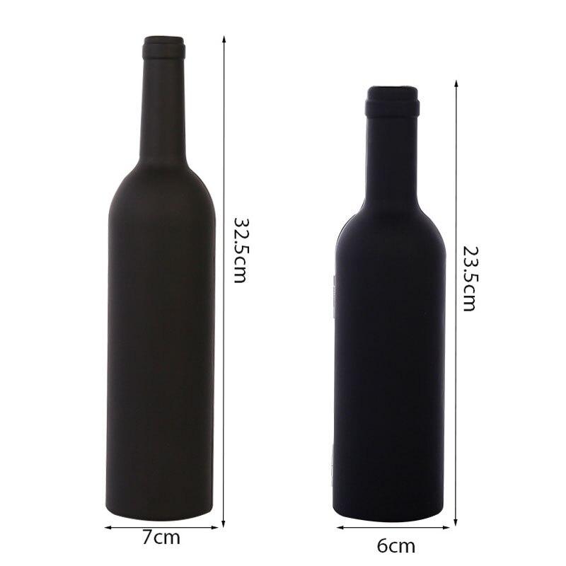 3Pcs/5Pcs Wine Bottle Corkscrew Set Tool Bottle-Shaped Holder Bottle Opener Christmas Thanksgiving Wedding Gift TB Sale