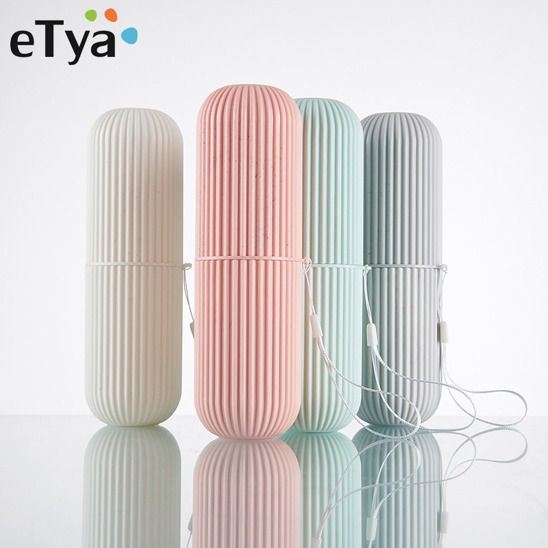 ETya Travel Accessories Toothbrush Cover Protection Box Wash Bag Fashion Travel Portable Packing Organizer Toiletries Pouch Case