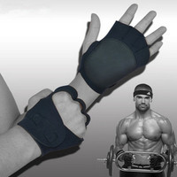 Crossfit Sports Gloves For Fitness Men Women Sports Gym Gloves Dumbbells Bodybuilding Training Exercise Body Free