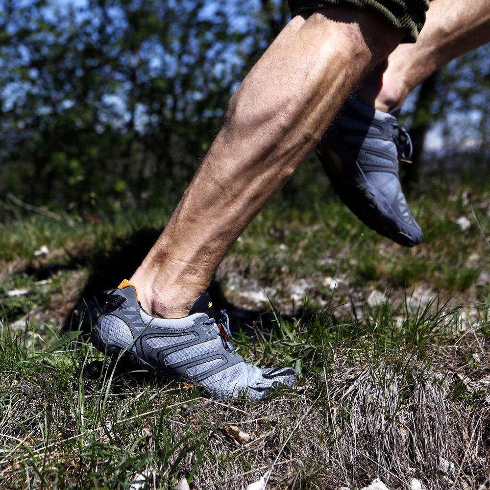 buy online 5d01d 87701 US $133.34 15% OFF|Vibram fivefingers V TRAIL Hot Sale Design Rubber Five  Fingers Outdoor Slip Resistant Breathable Light weight Shoe for Men-in ...