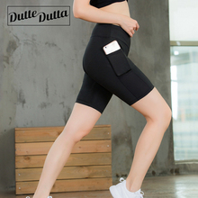 Duttedutta Yoga Shorts Mesh Patchwork Skinny Sport Running Shorts Leggings Gym Workout Fitness Shorts Quick Dry Clothing