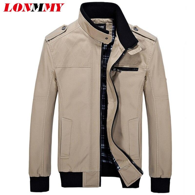 16c0cc09bb84 ₪Lonmmy куртка-бомбер Для мужчин пальто Хлопковые фирменные носки ...