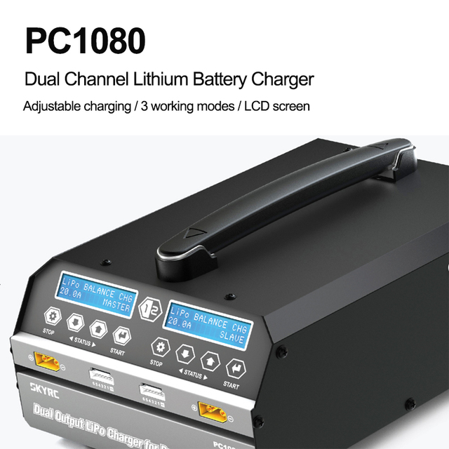 SKYRC PC1080 Dual Channel High Power Agricultural Plant Protection Machine Charger