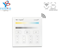 Mi Light 2 4G B2 4 Zone CCT Adjust Smart Led Touch Panel Remote Controller Color
