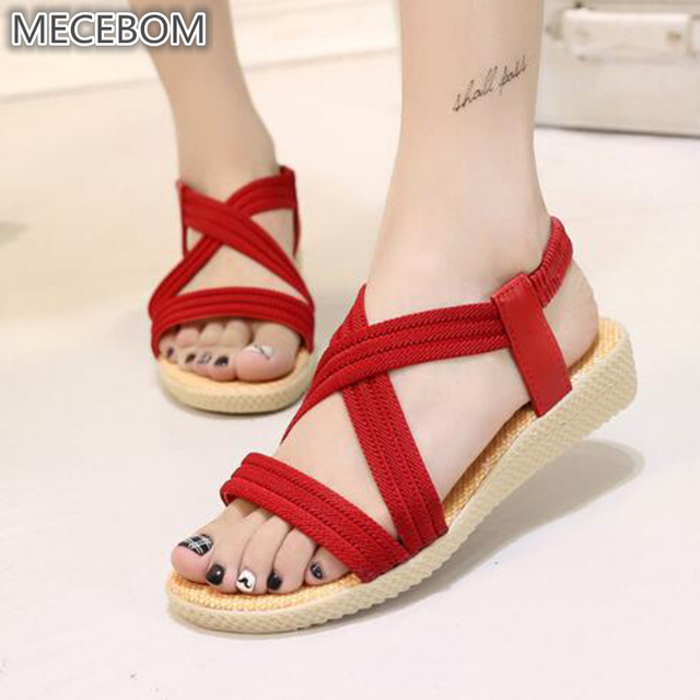 7c955e027ea1b Women Shoes Sandals Comfort Sandals Summer Flip Flops 2018 Fashion High  Quality Flat Sandals Gladiator Sandalias Mujer 2618W