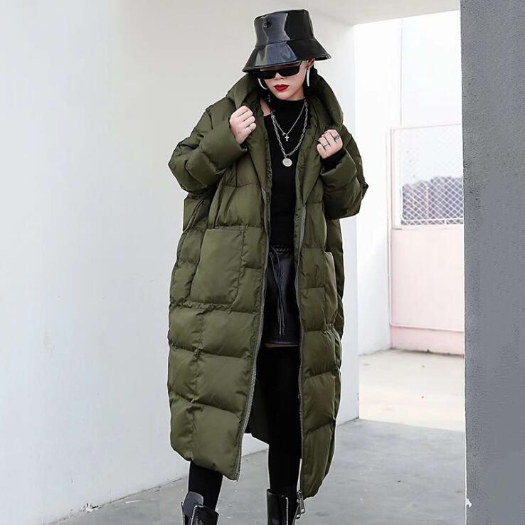 Women's Winter Coats Jacket Casual Artificial collar Female   Parka   Thick Cotton Padded Lining Winter Coat Female down jacket