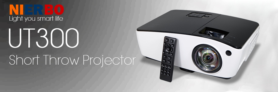Image result for NIERBO UT300 Short Throw UHP Projector