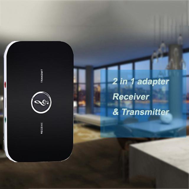 Hifi portátil 2 Em 1 BT 4.0 Adaptador 3.5mm Estéreo Transmissor Sem Fio Receptor Sem Fio Adaptador Bluetooth Jogador
