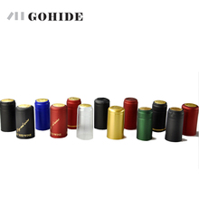 PVC heat shrinkable cap sealing cover Wine thickened brewed red wine bottle cap cap and material shrinkage [] цены