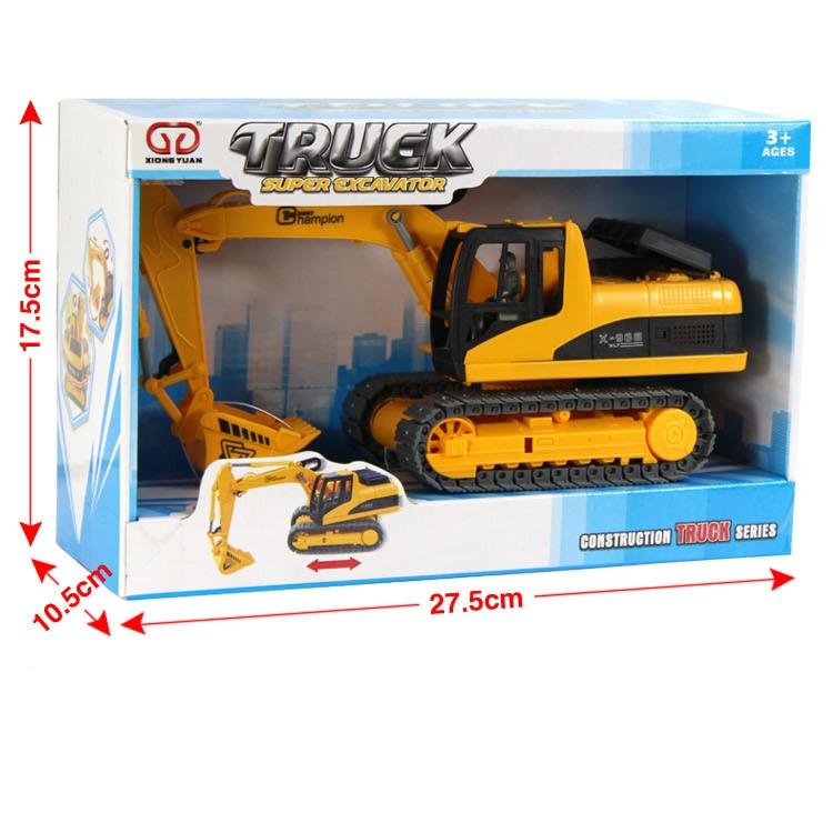 Купить с кэшбэком Wind Up Toys Engineering Excavator Digger Kids Children's Toys