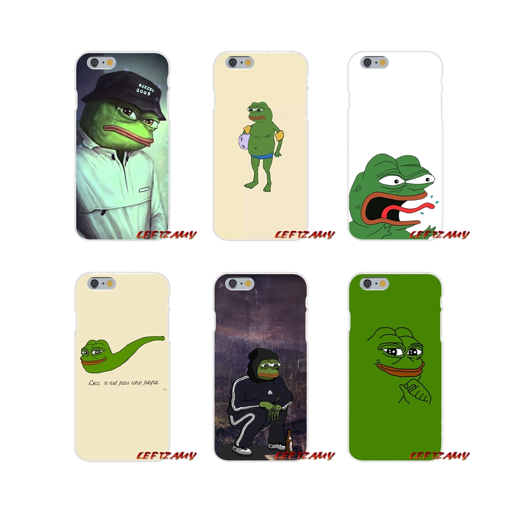 For Samsung Galaxy A3 A5 A7 J1 J2 J3 J5 J7 2015 2016 2017 Accessories Phone Shell Covers the Frog meme pepe image