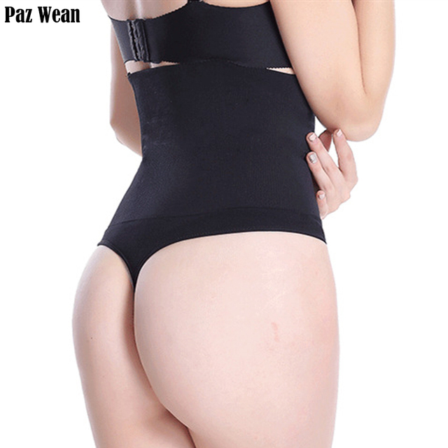 428514860eccd High Waist Women s Thong Waist Control Panties Brief Butt Lifter Panties  With Tummy Control And Body