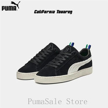 dc9b0eae PUMA x BIG SEAN Suede Black-Whisper White 367407-01 Mens Shoes Lace Up