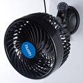 12 V 2-Speed Fan 9 W Ventiladores de Refrigeração de Ar Do Carro Do Carro Ventilador Elétrico