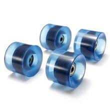 4pcs/set Skateboard Wheels 6cm Diameter and 4.5cm Width