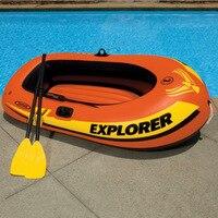 Проводник два сиденья надувная лодка группа спасательный жилет Лодка на водный надувной бассейн вода веселье плоты надувная езда ons