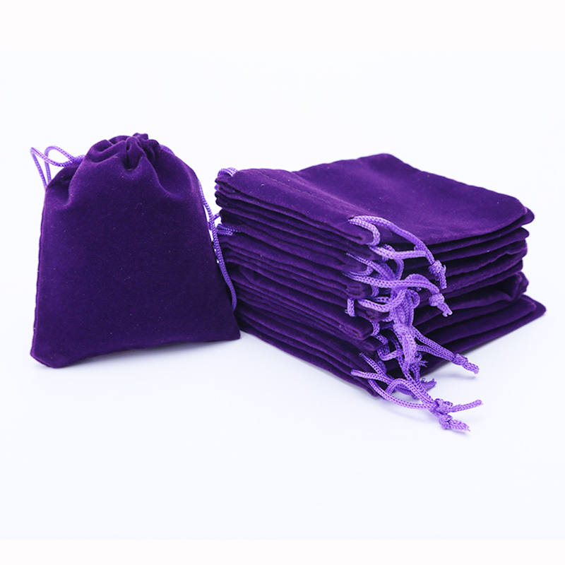 "Velvet Gift Bags 6x7cm(2.35"" x 2.75"") Christams Gift Bags Velvet Jewlery Bag with Drawstring Wedding Party Gift Pouches 1000pcs"