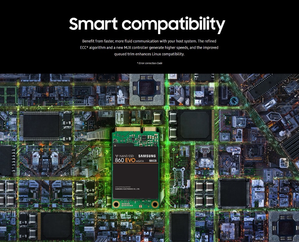 original SAMSUNG 860 EVO mSATA SSD 250G 500G Internal Solid State Disk  Drive large capacity for Laptop Desktop PC mSATA3 MLC