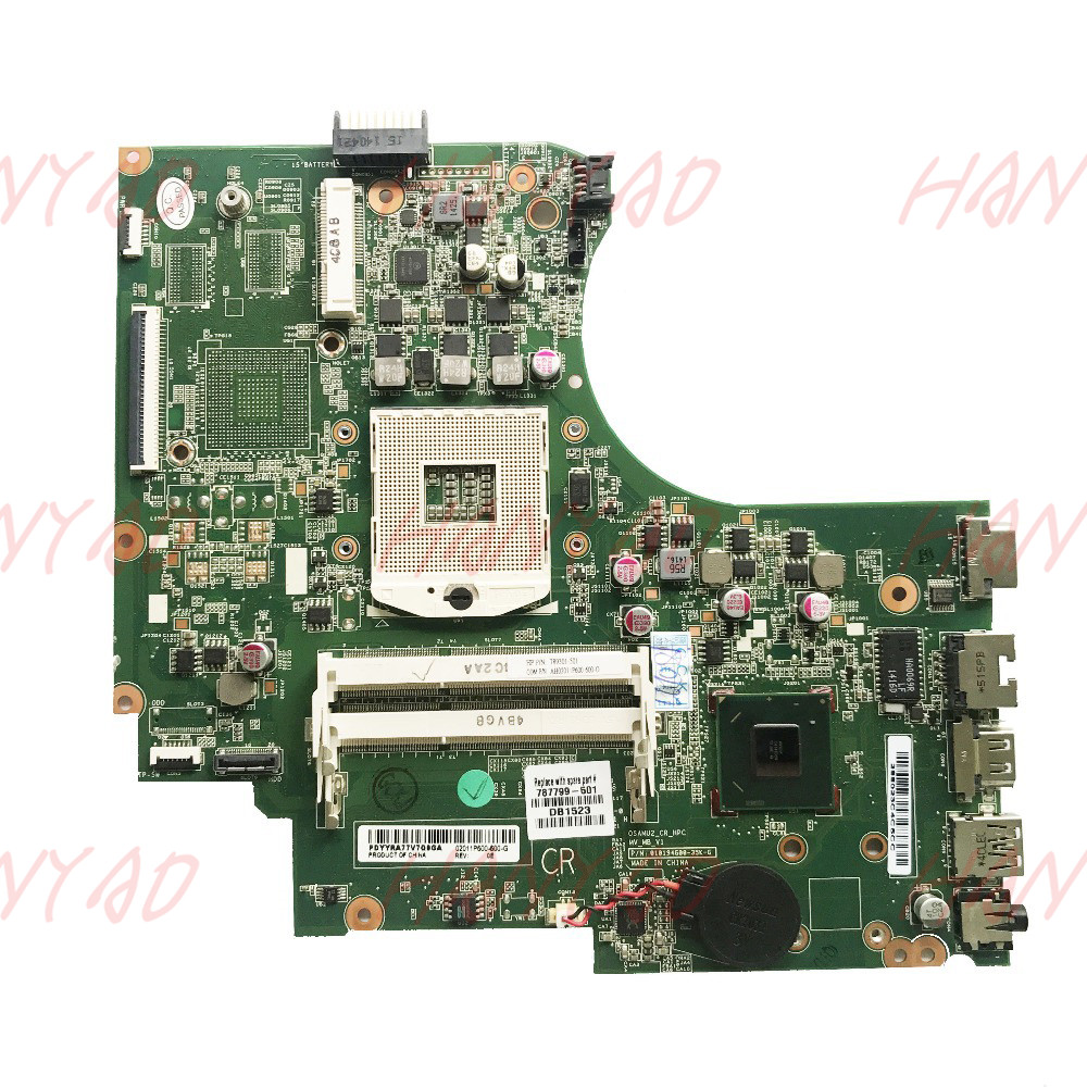 787799-501 787799-001 FOR HP 250 G2 15-D Series Laptop Motherboard GPA989 HM76 DDR3 Mainboard 100% Tested787799-501 787799-001 FOR HP 250 G2 15-D Series Laptop Motherboard GPA989 HM76 DDR3 Mainboard 100% Tested