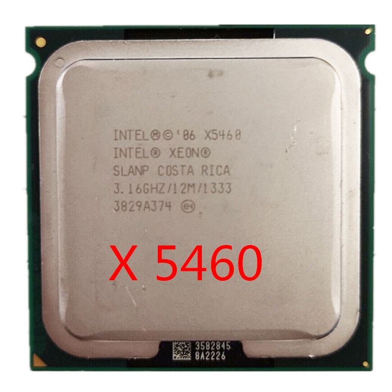 Intel Xeon X5460 CPU Works On LGA 771 Mainboard 3.16GHz 12MB 1333MHz Quad-Core Processor