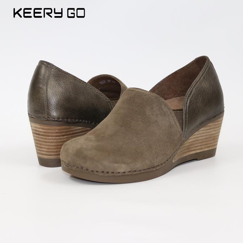Special offer new high-end head layer cowhide women's shoes Super comfortable shoes health inside and outside the whole skin worship the elder brother of the men and women athletic shoes head layer cowhide beef tendon counters authentic 6