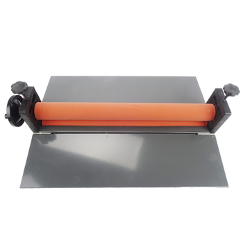 "Heavy 25"" Manual Laminating Machine Perfect Protect Cold Laminator Office Equipment 1pcs NEW Cold Roll Laminator"
