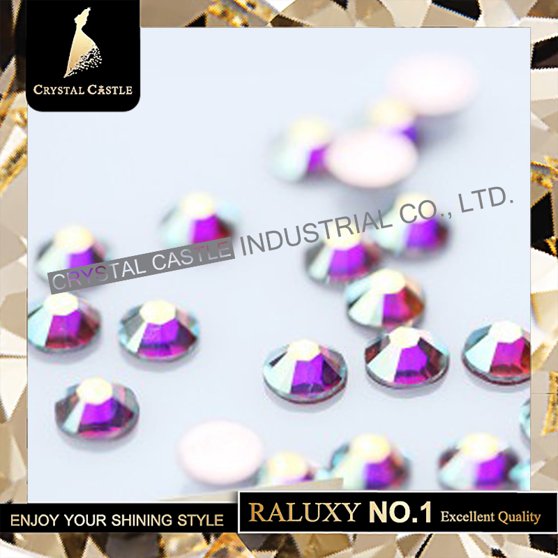 Non Hotfix Rhinestones Grade 5A All Size None Hot Fix Flatback Crystal AB Glass Non Hotfix Rhinestones For Nail Art Stone 2058