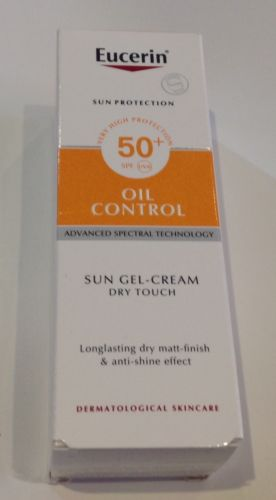 EUCERIN OIL CONTROL SUN GEL-CREAM DRY TOUCH 50+SPF 50mlEUCERIN OIL CONTROL SUN GEL-CREAM DRY TOUCH 50+SPF 50ml