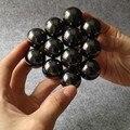 30 unids/lote 16mm Negro Bolas Magnéticas Esferas Big Beads Bloque Imanes Rompecabezas Cubo Mágico Cubo Mágico Regalo De Navidad