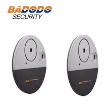 2pcs/lot Doberman security low cost gate,door/Window Alert detects vibration sensor Warning Sticker to deter theft(China)