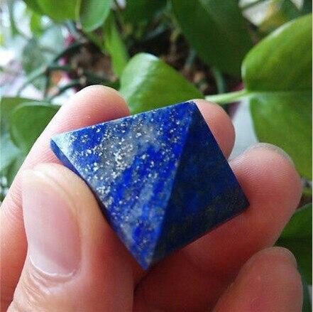 20g Healing natural lapis lazuli quartz crystal pyramid natural stones and minerals for gift