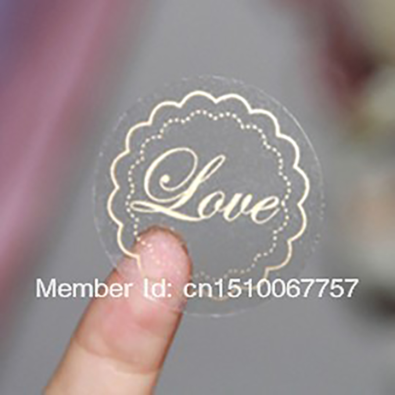 wholesale Free Shipping By Fedex Customize Logo Transparent PVC Sticker  Label Custom wedding label sticker-in Stickers from Home & Garden on  Aliexpress.com ...