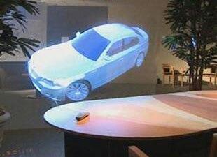 ! Film transparent d'écran de projection de film de projection arrière holographique de 1.524 m * 0.65 m pour l'affichage de fenêtre - 3