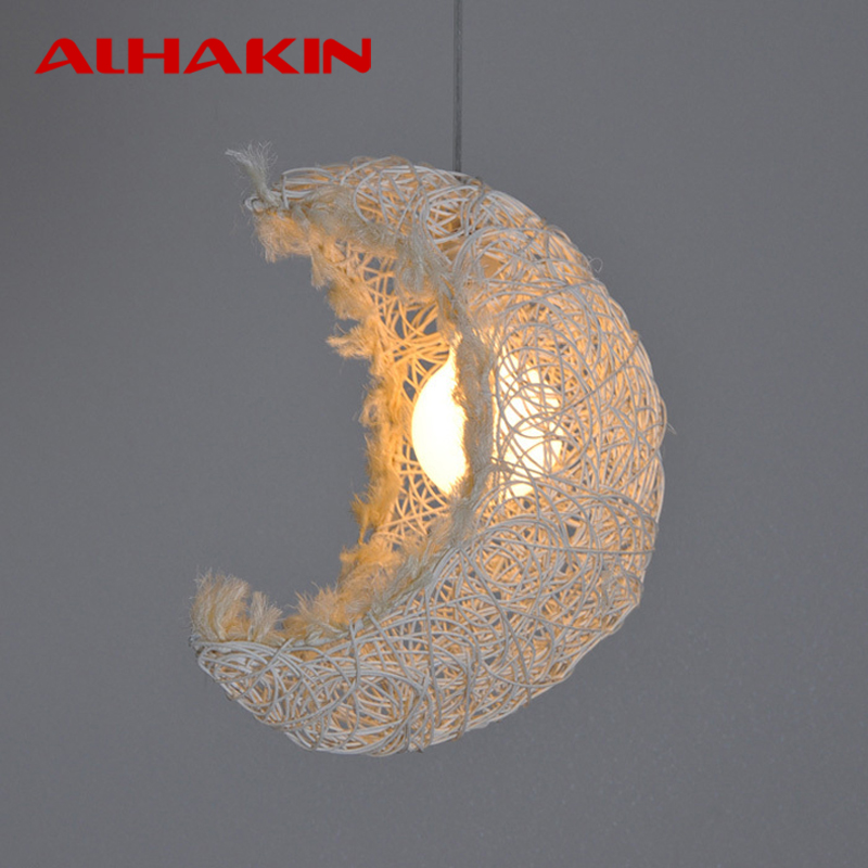 cheap modern pendant lighting. Cheap Modern Wood Rice White Nest/ Moon Shaped Pendant Lamp 110V/220V Half Round Lights For Restaurant/Coffee/Bedroom-in From Lighting