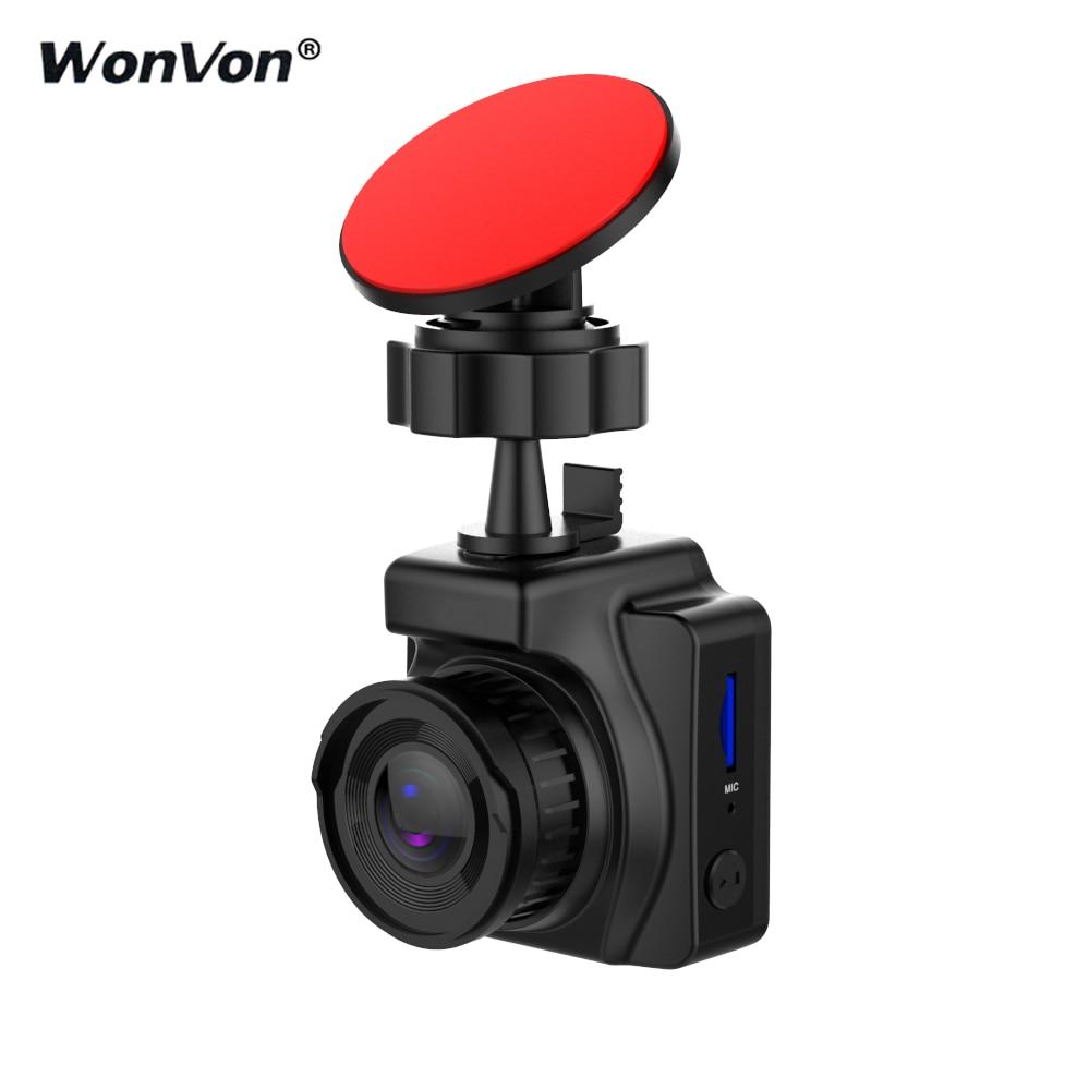 WonVon Car DVRs Recorder Dash Cam Full HD 1080P IMX323 Vehicle Car Camera Camcorder Dashcam Night Vision G-Sensor Dashcam